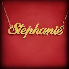 Personalized 14k Gold Name Necklace 10 Best 14k Gold Personalized Jewelry At Namefactory Com Images On