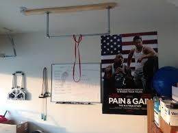 homemade pull up bar ceiling mounted joist u0026 beam pull up bars