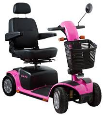Hoveround Mobility Chair Pink Mobility Scooter Mobility Options Your Discount Mobility