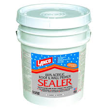 lanco 5 gal 100 acrylic roof and wall primer sealer as210 2