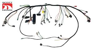 scott drake premium under dash wiring harnesses with relays for