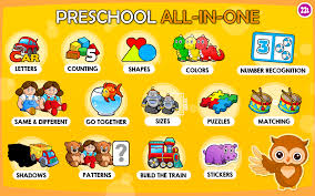 amazon com preschool all in one basic skills adventure with toy