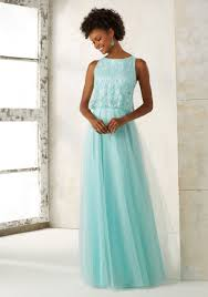 tulle bridesmaids dress with beaded bodice style 21511 morilee