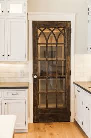 kitchen pantry cabinet with glass doors tall cabinets corner and