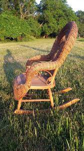 child u0027s natural antique victorian wicker rocker heywood brothers