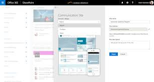 reach your audience via sharepoint communication sites in office