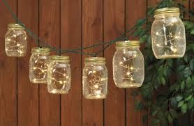 warm white solar fairy lights our set of 2 solar powered mason jar string lights brightens