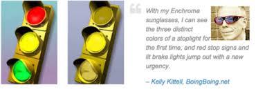 Red Blue Color Blindness Glasses Reveal Color To The Color Blind Berkeley Start Ups