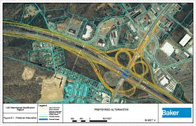 I 95 Map Rappahannock River Crossing Project Fampo