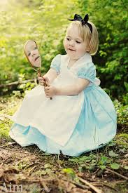 4t Halloween Costumes Girls Alice Wonderland Costume Dress Apron 12m 18m 2t 3t 4t