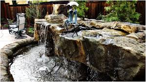 backyard waterfalls kits home outdoor decoration