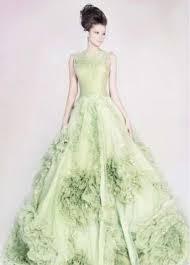 green wedding dresses 27 best green wedding dresses images on wedding