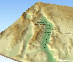 Map Of Death Valley Death Valley 3d Map U2013 Mapswire Com