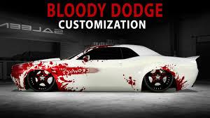 dodge challenger concept midnight la bloody dodge challenger concept customization