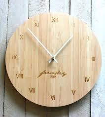Personalized Anniversary Clock Wall Clocks Engraved Wall Clock Engraved Wall Clock Engraved