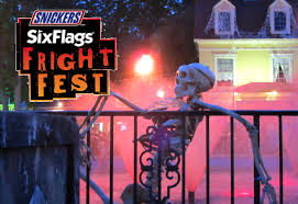 Six Flags Fright Fest California Newsplusnotes Six Flags Great Adventure Hosts Largest Fright Fest