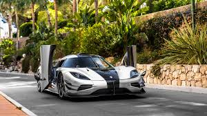 koenigsegg christmas caught on the street koenigsegg one 1 in monaco