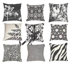Trend Alert Black & White Decorative Pillows How To Be Trendy
