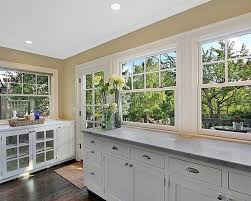 Best Countertops With White Cabinets Magnificent White Kitchen With Granite My Home Design Journey