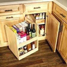 Storage Solutions For Corner Kitchen Cabinets Corner Cabinet Storage Solutions Corner Kitchen