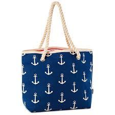 nautical tote nautical anchor tote bag handbags purses hallmark