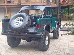 ford bronco jeep krawlers edge early bronco restoration and fabrication