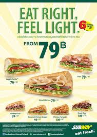 cuisine subway subway ซ บเวย ไทยแลนด