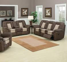 Reclining Leather Sofa Sets by Divine Vintage Living Room Interior Design Introduce Voluptuous