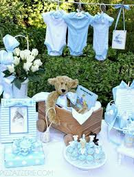 teddy centerpieces for baby shower 35 boy baby shower decorations that are worth trying digsdigs