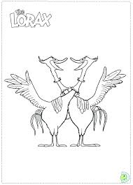 lorax coloring pages pdf lorax coloring pages gerin