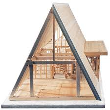 a frame house plans with loft midwest products a frame cabin kit blick materials