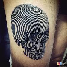 20 mind bending optical illusion tattoos luvthat