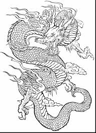 extraordinary dragon coloring pages with art therapy