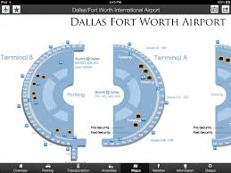 Dallas Fort Worth Airport Terminal Map by App Shopper Airport Ace Airport Maps U0026 Information Travel