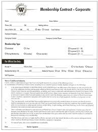 world gym corporate sales contract form