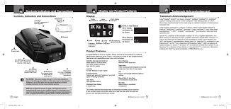 esr855 radar detector user manual cobra electronics corporation