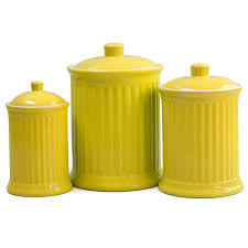 Yellow Canister Sets Kitchen 100 Yellow Canister Sets Kitchen Amazon Com Tuscany Garden