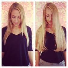 in hair extensions extensions and on
