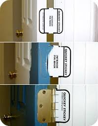 Interior Painting Tools Door Hinge Covers For Painting The House Of Smiths