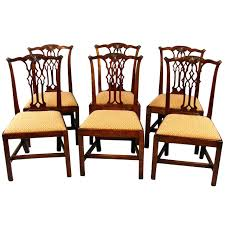 114 chippendale dining room table and chairs cool six italian