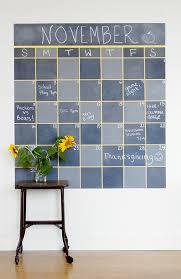 make this chalkboard wall calendar u2022 colorhouse