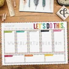cool desk pad calendars weekly calendar desk pad printable weekly calendar