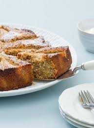 cuisine braun fresh pear coconut and roasted almond cake gluten free dish