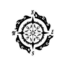 tribal tattoos forearm design compass tattoo designs compass tattoos designs pinterest