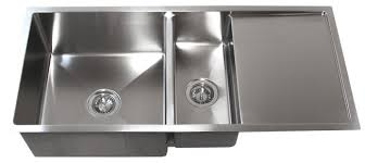 stainless sink with drainboard stainless steel undermount kitchen sink w drain board tz4219cfd