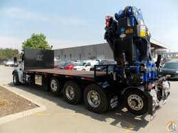 new kenworth semi trucks for sale new pm 65024s knuckle boom with 22 u2032 6 u2033 deck on new 2017 kw t880 5