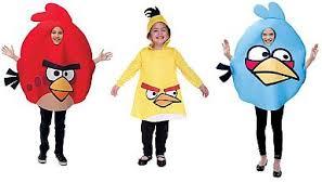 Bird Halloween Costume Angry Birds Halloween Costumes Family Pufek77
