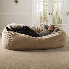 7 giant bean bag sofa chenille cover plum jaxx casual including