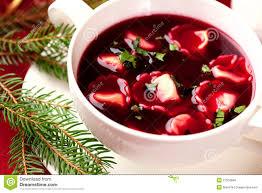 barszcz polish christmas soup royalty free stock image image