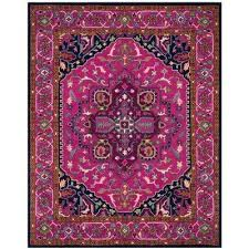 Pink 8x10 Rug 8 X 10 Border Pink Area Rugs Rugs The Home Depot